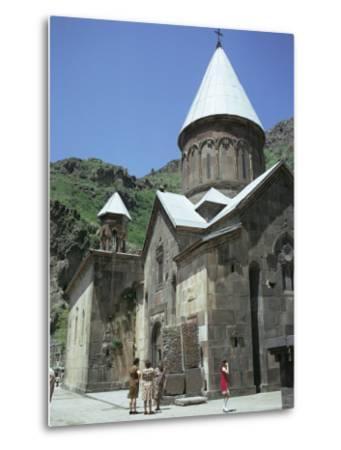 Geghard Monastery, Unesco World Heritage Site, Armenia, Central Asia-Sybil Sassoon-Metal Print