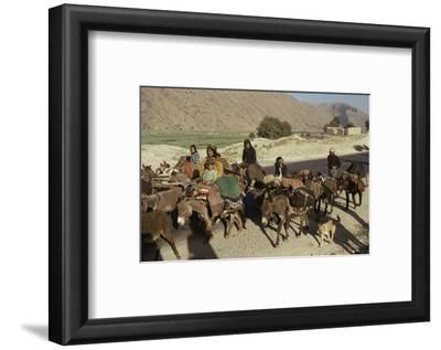 Migration of the Qashgai Tribe, Iran, Middle East-Sybil Sassoon-Framed Photographic Print