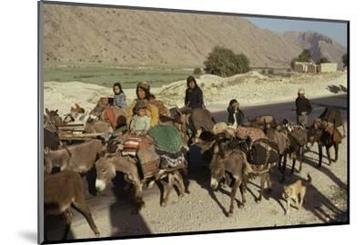 Migration of the Qashgai Tribe, Iran, Middle East-Sybil Sassoon-Mounted Photographic Print