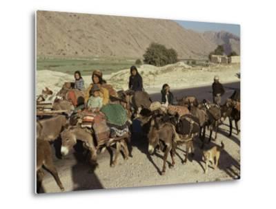 Migration of the Qashgai Tribe, Iran, Middle East-Sybil Sassoon-Metal Print