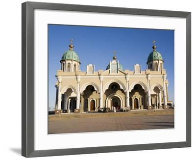 The Christian Medehanyalem Church, Addis Ababa, Ethiopia, Africa-Gavin Hellier-Framed Photographic Print