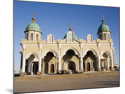 The Christian Medehanyalem Church, Addis Ababa, Ethiopia, Africa-Gavin Hellier-Mounted Photographic Print