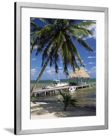 Main Dive Site in Belize, Ambergris Caye, Belize, Central America-Gavin Hellier-Framed Photographic Print
