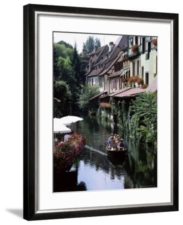 Petite Venise, Colmar, Haut-Rhin, Alsace, France-David Hughes-Framed Photographic Print