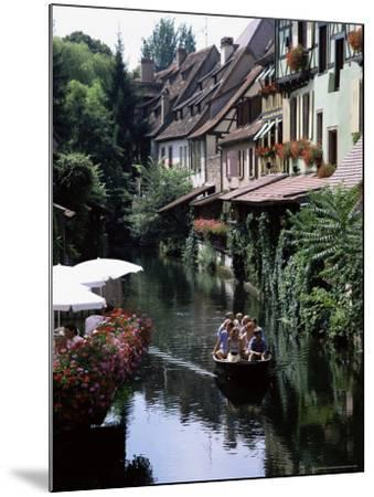 Petite Venise, Colmar, Haut-Rhin, Alsace, France-David Hughes-Mounted Photographic Print