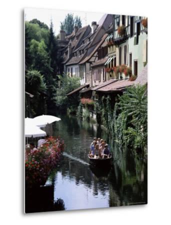 Petite Venise, Colmar, Haut-Rhin, Alsace, France-David Hughes-Metal Print