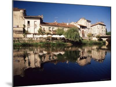 Brantome, River Dronne, Dordogne, Aquitaine, France-David Hughes-Mounted Photographic Print