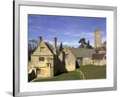 Honey Coloured Stone Buildings, Chipping Campden, the Cotswolds, Gloucestershire, England-David Hughes-Framed Photographic Print