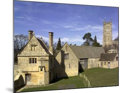 Honey Coloured Stone Buildings, Chipping Campden, the Cotswolds, Gloucestershire, England-David Hughes-Mounted Photographic Print