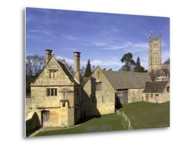 Honey Coloured Stone Buildings, Chipping Campden, the Cotswolds, Gloucestershire, England-David Hughes-Metal Print