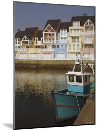 Holiday Flats Overlooking the Port, Deauville, Calvados, Normandy, France-David Hughes-Mounted Premium Photographic Print