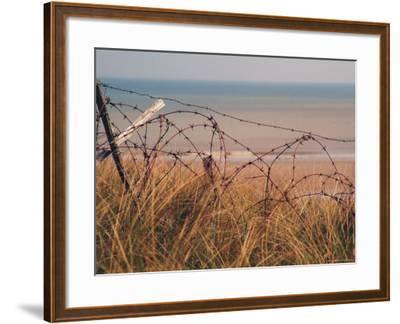 Utah Beach, Calvados, France-David Hughes-Framed Photographic Print