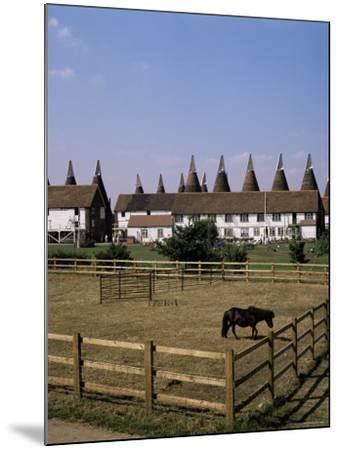 Oast Houses at Whitbread Hop Farm, Tonbridge, Kent, England, United Kingdom-G Richardson-Mounted Photographic Print