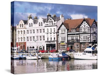 Old Harbour, Douglas, Isle of Man, England, United Kingdom-G Richardson-Stretched Canvas Print