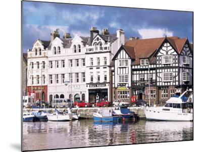 Old Harbour, Douglas, Isle of Man, England, United Kingdom-G Richardson-Mounted Photographic Print