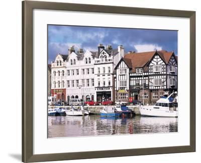 Old Harbour, Douglas, Isle of Man, England, United Kingdom-G Richardson-Framed Photographic Print