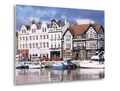 Old Harbour, Douglas, Isle of Man, England, United Kingdom-G Richardson-Metal Print