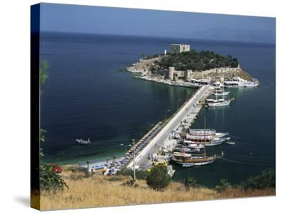 Pigeon Island, Kusadasi, Anatolia, Turkey, Eurasia-G Richardson-Stretched Canvas Print