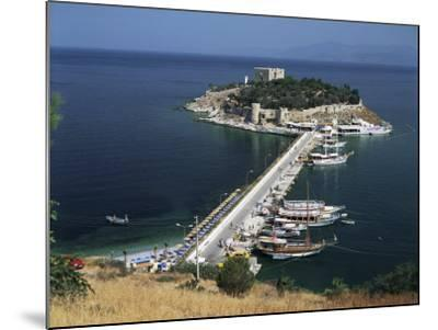 Pigeon Island, Kusadasi, Anatolia, Turkey, Eurasia-G Richardson-Mounted Photographic Print