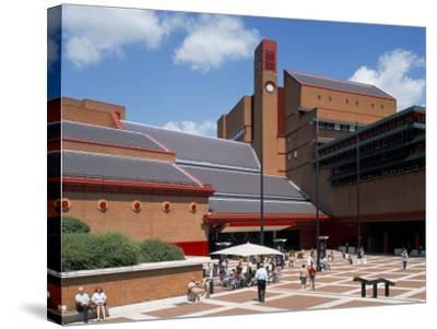The British Library, London, England, United Kingdom-G Richardson-Stretched Canvas Print