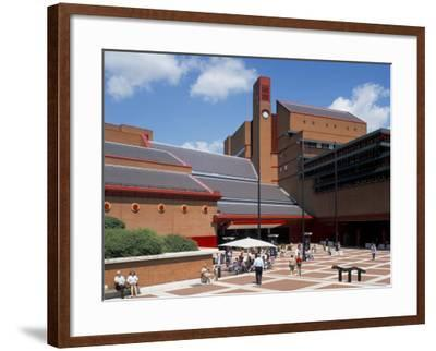 The British Library, London, England, United Kingdom-G Richardson-Framed Photographic Print