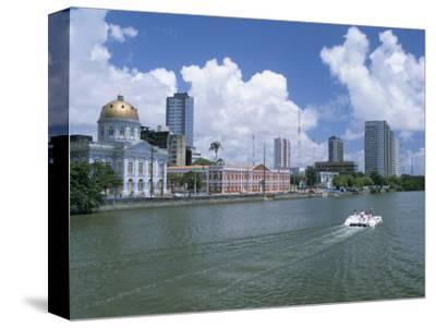 Waterfront, Recife, Pernambuco, Brazil, South America-G Richardson-Stretched Canvas Print