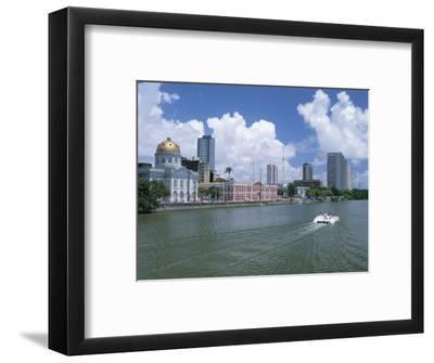 Waterfront, Recife, Pernambuco, Brazil, South America-G Richardson-Framed Photographic Print