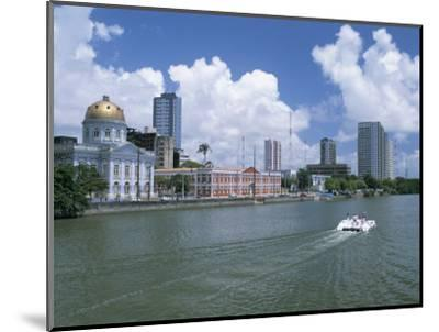 Waterfront, Recife, Pernambuco, Brazil, South America-G Richardson-Mounted Photographic Print
