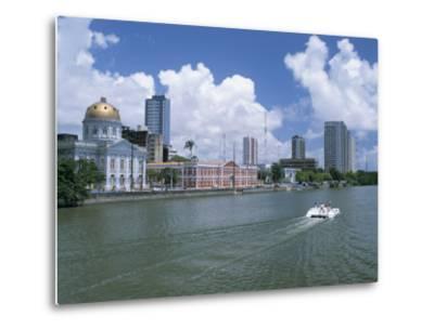 Waterfront, Recife, Pernambuco, Brazil, South America-G Richardson-Metal Print