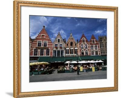 The Markt, Bruges, Belgium-Lee Frost-Framed Photographic Print