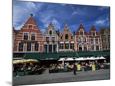 The Markt, Bruges, Belgium-Lee Frost-Mounted Photographic Print