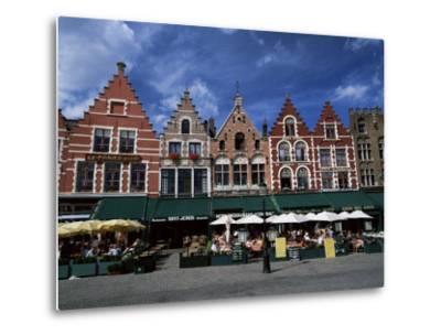 The Markt, Bruges, Belgium-Lee Frost-Metal Print