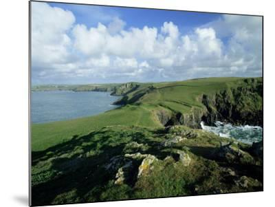 View Across Pentire Head to Coastline Near Polzeath, Cornwall, England, United Kingdom-Lee Frost-Mounted Photographic Print