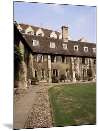 Oldest Quadrangle, Old Court, Corpus Christi, Cambridge, Cambridgeshire, England-Michael Jenner-Mounted Photographic Print
