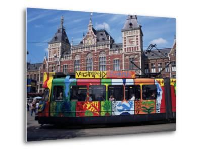 Central Station and Tram Terminus, Amsterdam, Holland-Michael Jenner-Metal Print