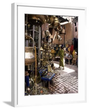 Handicraft Souk, Marrakech, Morocco, North Africa, Africa-Michael Jenner-Framed Photographic Print