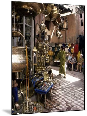 Handicraft Souk, Marrakech, Morocco, North Africa, Africa-Michael Jenner-Mounted Photographic Print