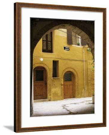 Venetian Architecture, Xania, Island of Crete, Greek Islands, Greece-Peter Ryan-Framed Photographic Print