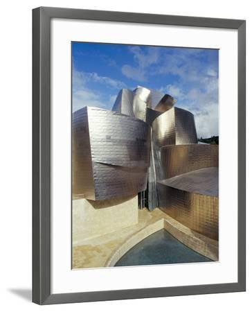 Guggenheim Museum, Designed by American Architect Frank O. Gehry, Opened 1997, Bilbao-Christopher Rennie-Framed Photographic Print