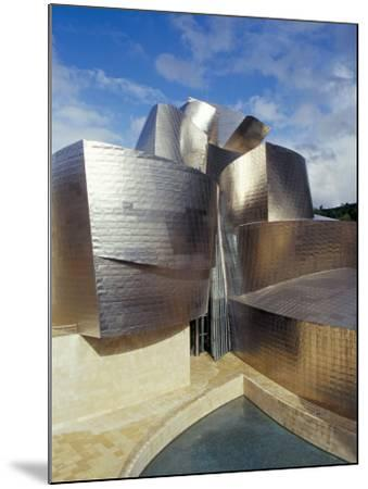 Guggenheim Museum, Designed by American Architect Frank O. Gehry, Opened 1997, Bilbao-Christopher Rennie-Mounted Photographic Print