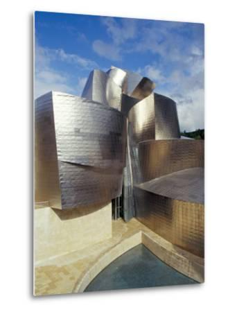 Guggenheim Museum, Designed by American Architect Frank O. Gehry, Opened 1997, Bilbao-Christopher Rennie-Metal Print