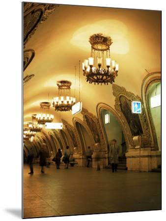 Kievskaya Metro Station, Moscow, Russia-Christopher Rennie-Mounted Photographic Print