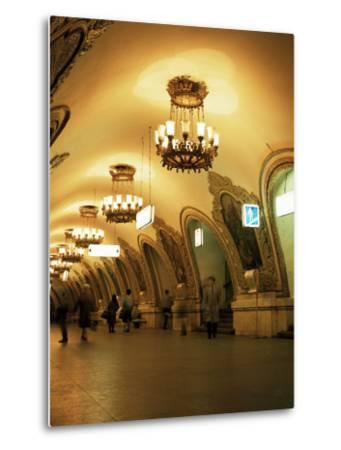 Kievskaya Metro Station, Moscow, Russia-Christopher Rennie-Metal Print