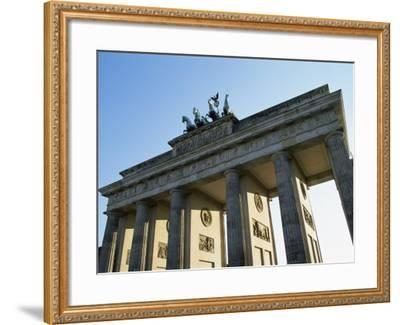 Brandeburg Gate, Berlin, Germany-Hans Peter Merten-Framed Photographic Print