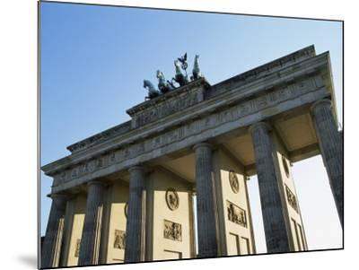 Brandeburg Gate, Berlin, Germany-Hans Peter Merten-Mounted Photographic Print