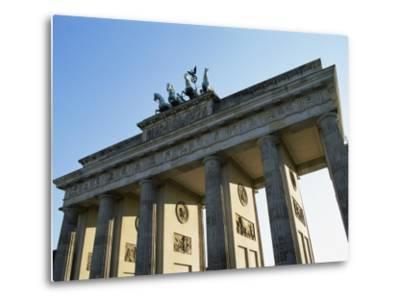 Brandeburg Gate, Berlin, Germany-Hans Peter Merten-Metal Print