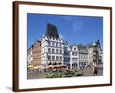 Townhall, Paderborn, North Rhine-Westphalia (Nordrhein-Westfalen), Germany-Hans Peter Merten-Framed Photographic Print