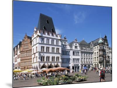 Townhall, Paderborn, North Rhine-Westphalia (Nordrhein-Westfalen), Germany-Hans Peter Merten-Mounted Photographic Print