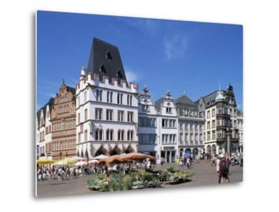 Townhall, Paderborn, North Rhine-Westphalia (Nordrhein-Westfalen), Germany-Hans Peter Merten-Metal Print