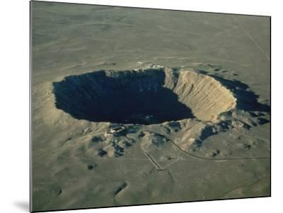 Meteor Crater, the Largest Known in the World, Arizona, USA-Ursula Gahwiler-Mounted Photographic Print
